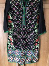 Embroidered Shirt Sana Safinaz Rang Ja