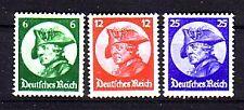 Deutsches Reich Michelnummer 479 - 481 postfrisch