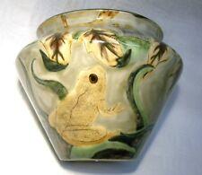 More details for cobridge stoneware  pottery   vase  frog prince ltd ed 18/100 mib