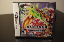 Bakugan: Defenders of the Core (Nintendo DS, 2010) New / Factory Sealed