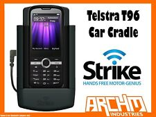 STRIKE ALPHA TELSTRA T96 CAR CRADLE - BUILT-IN FAST CHARGER SECURE HOLD PROTECT