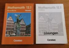 Mathematik 12.1 Grundkurs Hessen und Buch LÖSUNGEN Bigalke/Köhler Cornelsen