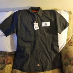 SMITH & WESSON WORK SHIRT - LARGE - DICKIES - NWT