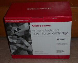 HP 4700 Printer Toner - Office Depot Remanufactured Laser Toner - Black