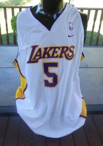 🔥 NEW Team Nike ROBERT HORRY Los Angeles Lakers Jersey 2XL NWT