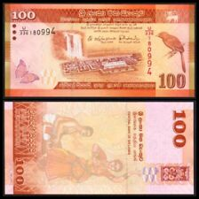 SRI LANKA 100 RUPEES 2015. PICK 125c. SC. UNC (Uncirculated).