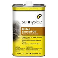 Sunnyside Corporation 87232S Boiled Linseed Oil, Quart