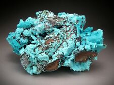Chrysocolla after Malachite after Azurite, DR Congo