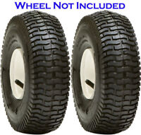 2 - 16X6.50-8 4Ply Lawn Mower Turf Tires Transmaster S365