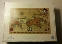 Pottery Barn Kids Pirate Jumbo Puzzle Floor 24 x 36 inches Map