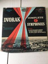 Dvorak - Complete 9 Symphonies - 7xLP Box Set - S-3568