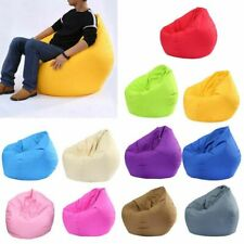 Large Bean Bag Sofas Cover Lounger Chair Sofa Ottoman Seat Living Room Furniture