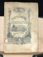 1850 Pictorial Cultivator Farm Machinery L. Tucker Cultivator Premium Booklet