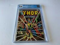 THOR 229 CGC 9.6 WHITE PAGES CLASSIC COVER HERCULES APP MARVEL COMICS 1974