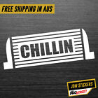 CHILLIN JDM CAR STICKER DECAL Drift Turbo Euro Fast Vinyl #0377