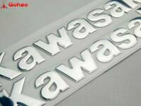 "8"" Silver Fuel Gas Tank Fairing Body Emblem Decal Sticker for Kawasaki 20cm New"