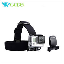 Gopro Head Strap Mount and Clip Mount Set for GoPro HD HERO 1 2 3 Camera WoCase