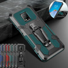 Case For Xiaomi Redmi Note 9S 8 Pro Heavy Duty Rugged Magnetic Armor Stand Cover