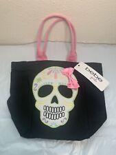 Bebe Girls Day Of The Dead Bag Accessory Sugar Skull