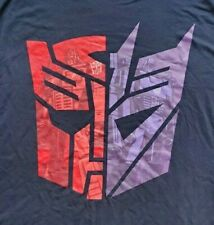 New Loot Crate Wear ALTER EGO Transformers Autobot Decepticon T-Shirt Adult M
