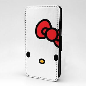 For Mobile Phone Flip Case Cover Hello Kitty - T1455