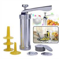 Cookie Biscuit Making Maker Pump Press Machine Icing Syringe Mold Tools Set