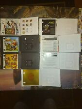 Nintendo 3ds Cases And Manuals Only Lot NO GAMES