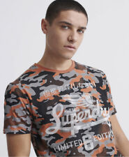 Superdry Mens All Over Print Lite T-Shirt