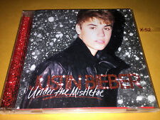 JUSTIN BIEBER cd UNDER MISTLETOE + dvd USHER mariah carey BOYZ II MEN band perry