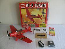 Vintage Cox Gas Powered .049 Snap Start AT-6 Texan Control Line Airplane NIB