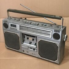 Vintage Hitachi TRK-8130E Boombox - 80s Portable Radio Cassette - Spares Repair