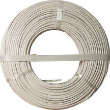 Burglar Alarm-Security Cable, Stranded COPPER, 22/4 , UTP, 500FT WHITE,COIL PACK