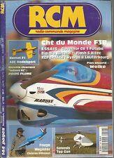 RCM N°199 PLAN : WOLKE / FOUGA MAGISTER / GENESIS TOP GUN / HORNET F1