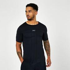 Everlast Short Sleeve Seamless T Shirt Mens Gents Performance Tee Top Crew Neck