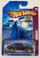 2007 Hotwheels 1967 67 Chevy Camaro, American Muscle! Very Rare!