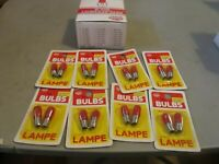 MODEL POWER 8 PR 399 RED   BULBS SCREW 18 VOLT  NOS OB