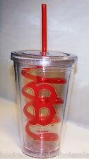 1 Boston Red Sox 16 oz. Team Logo Plastic Tumbler with swirl straw