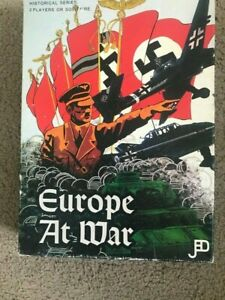 Europe at War and Fortress Europa -Jedko Games-Historical series -
