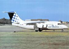 AIR BALTIC Avro RJ70 YL-BAL c/n E1224  Airplane Postcard