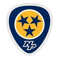 Nashville Predators Decal / Sticker Die cut