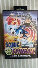 Sonic Spinball sega megadrive completo
