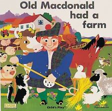 Old Macdonald Had a Farm Books with Holes Paperback