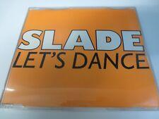 "SLADE ~ LET'S DANCE RARE 3"" SINGLE CD"