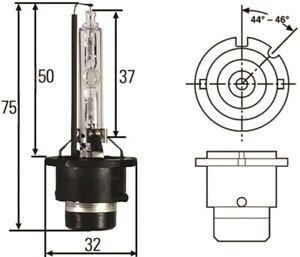 Hella D2S 35W High Intensity Discharge Capsule - hellaH83075001