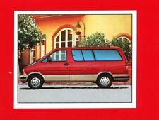 AUTO SEBESSEG - Panini - Figurina-Sticker - n. 61 - FORD AEROSTAR 4.0 157 cv-New