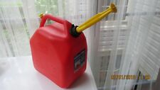 OLD STYLE But NEW Vented Scepter 6.6 Gallon Plastic Gas Can Spout & Spout Cap