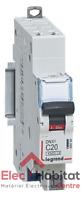 Disjoncteur unipolaire+neutre DNX3 20A Auto/Auto Legrand 406784