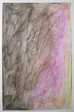 Aquarelle par JOSEPH ILIU Composition Abstraite Abstraction Lyrique Roumanie #22