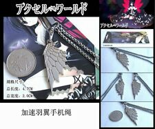 New Accel World Silver Crow Wing Cell Phone Charm USA Seller
