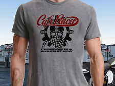Cafe Racer Freedom...Vintage Classic T-Shirt Biker Motorcycle Retro Ideal Gift